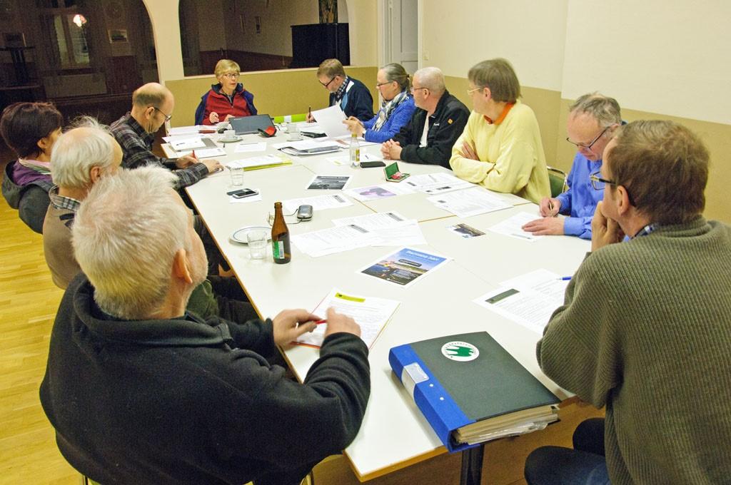 Styrelsemöte i Ruskemåla skola mars 2015