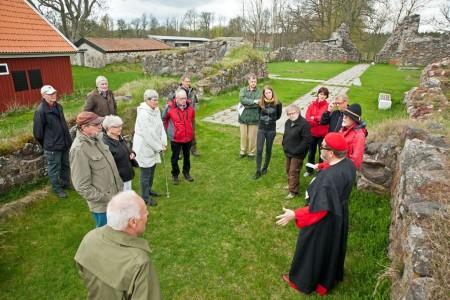 Guidning Kronobäcks klosterruin länsstämman 2015