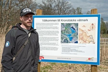 Guidning vid Kronobäcks våtmark länsstämman 2015